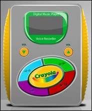 Crayola MP3 Player