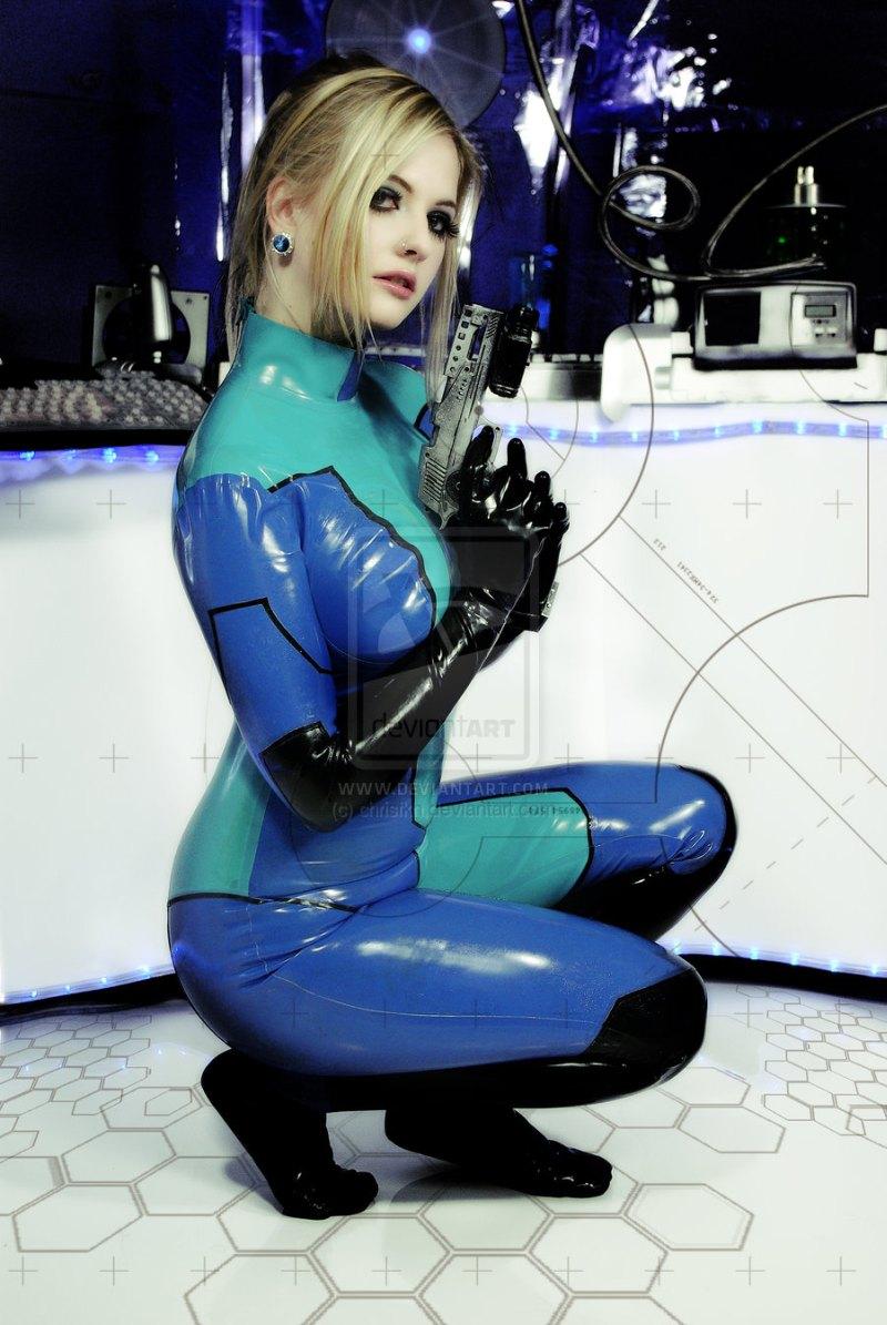 Sexy samus aran cosplay