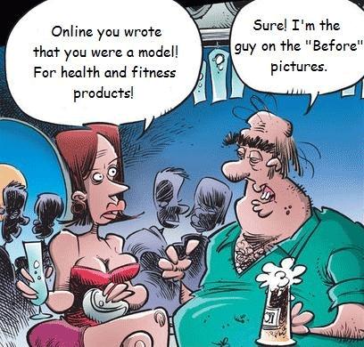 Online dating comic