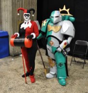 Harley Quinn and Space Marine
