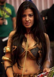 Slave Leia (New York Comic Con 2011)