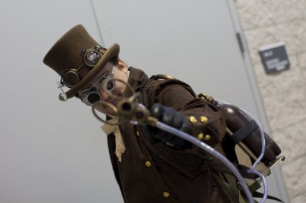 Steampunk Dude (New York Comic Con 2011)