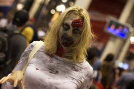 Zombie Lady (New York Comic Con 2011)