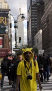 Dude in a Pikachu Hoodie in New York