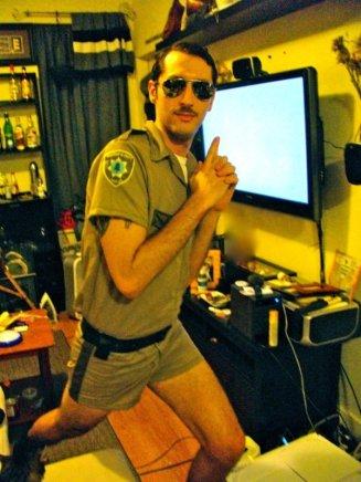 Lieutenant Dangle from Reno 911 - Collin