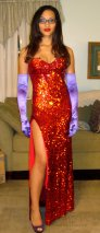 Aliya as Jessica Rabbit