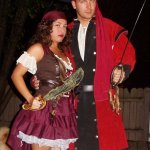Charlene and James as Pirates (Arrrrrrrrrrrrrrrrrrrrrrrrrrrrrrrrrrrrrr)