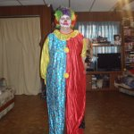 A Scary Clown.