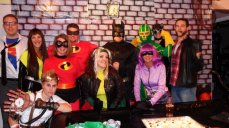 Corey and Friends as Superheroes