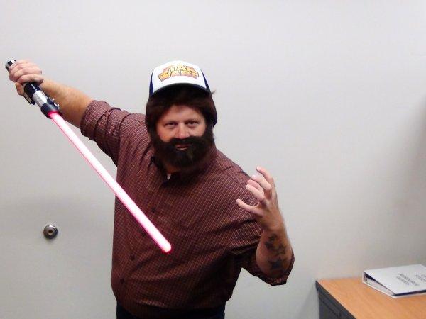 Michael as George Lucas