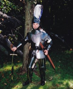 Scott in his Awesome Suit of Armor
