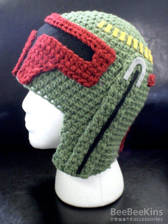 Boba Fett Star Wars Crochet Hat Pic