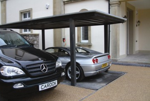Hideaway Car Elevator for your Driveway