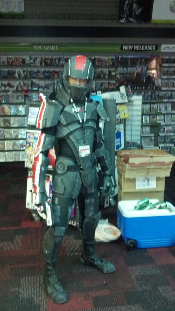 Commander Shepard in Erie, PA