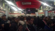 Fans Gather at Chicago Game Stop