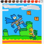 Drawsome Batman-Koopa