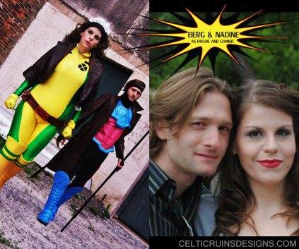 Berg and Nadine as Gambit nd Rogue