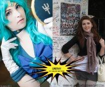 Lindsay as Sailor Neptune from Sailor Moon
