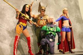 Super Heroes! - SDCC 2012 - Bill Watters