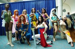 Badass Ladies - SDCC 2012 - Aggressive Comix