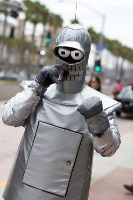 Bender - SDCC 2012 - San Diego Shooter