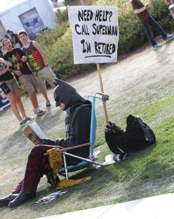 Batman: I'm retired - SDCC 2012 - Bill Watters
