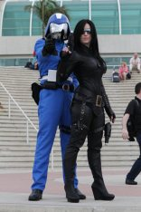 Cobra Commander and the Baroness - Bill Watters - SDCC 2012
