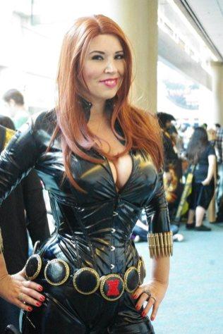 Black Widow - SDCC 2012 - Aggressive Comix