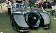 Batmobile (Batman Returns) - Hayley Sargent - SDCC 2012