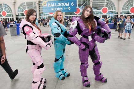 HALO Girls - SDCC 2012 - Hayley Sargent