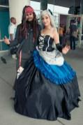 Jack Sparrow and Lolita - Hayley Sargent - SDCC 2012