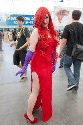 Jessica Rabbit - SDCC 2012 - Hayley Sargent