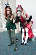 Poison Ivy and Harley Quinn - SDCC 2012 - Hayley Sargent