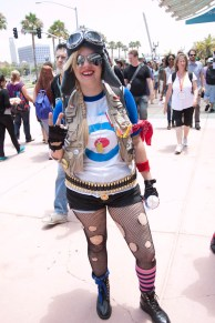 Tank Girl - SDCC 2012 - Hayley Sargent
