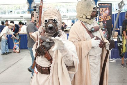 Tusken Raiders - SDCC 2012 - Hayley Sargent