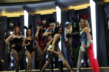 Iron Bunnies - SDCC 2012 - Pat Loika