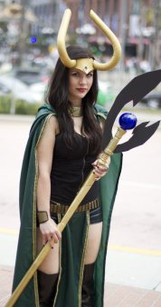 Lady Loki - San Diego Shooter - SDCC 2-12