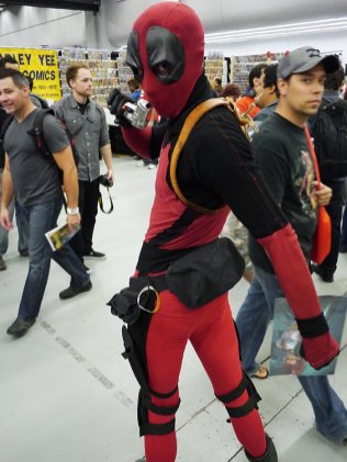 Deadpool at Montreal Comic Con 2012