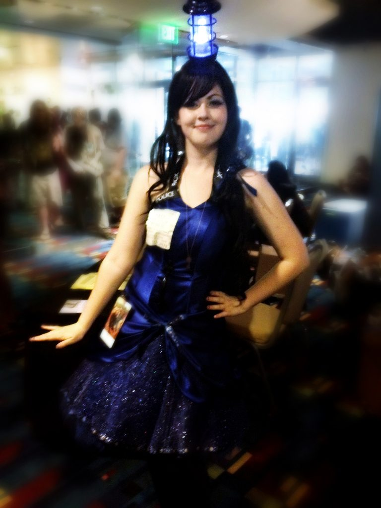 Tardis Lady - Picture by Deadsetdork