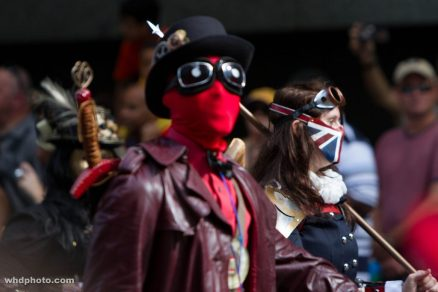 Deadpool @ Dragon Con 2012 - Picture by Leepus