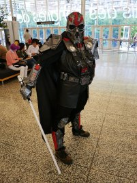 Alternate Darth Vader at Montreal Comic Con 2012