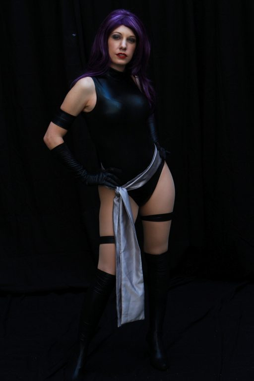Psylocke @ Dragon Con 2012 (Ana Aesthetic) - Picture by Bill Watters