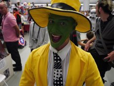 The Mask at Montreal Comic Con 2012