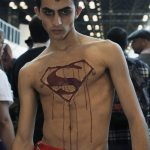 Superboy Prime @ New York Comic Con (NYCC) 2012