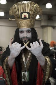 Lo Pan (Big Trouble in Little China) @ New York Comic Con 2012 (NYCC)