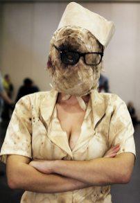 Silent Hill Nurse @ New York Comic Con 2012 (NYCC)