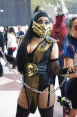 Lady Scorpion - New York Comic Con 2012 - Picture by Aggressive Comix