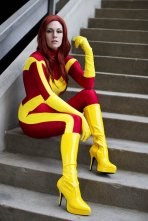 X-Factor Jean Grey (iKearstin) @ Dragon Con 2012 – Picture by Anna Fischer