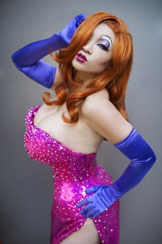 Jessica Rabbit (Yaya Han) @ Dragon Con 2012 - Picture by Anna Fischer