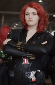 Black Widow @ New York Comic Con 2012 (NYCC)